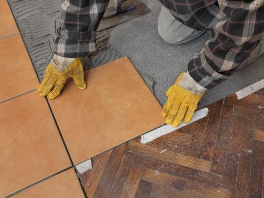 Tile is a durable choice for high traffic areas or areas exposed to the outdoors.