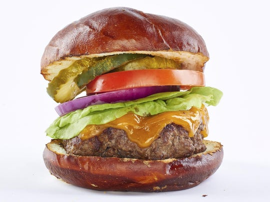 Hamburgers can quickly get messy.
