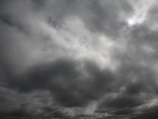 Periods of hail and thunderstorms are possible Wednesday afternoon for areas east of Great Falls, according to the National Weather Service.