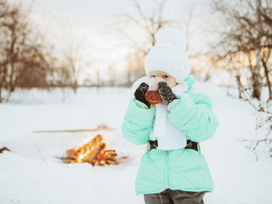 Learn to build a fire outdoors at the Great Swamp Outdoor Education Center on Saturday.