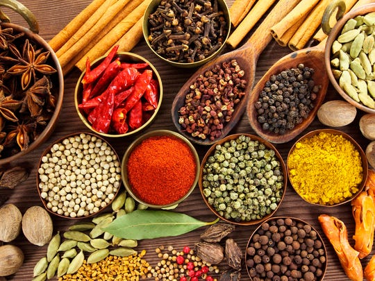 Herbs and spices have medicinal qualities that can ease allergy symptoms.