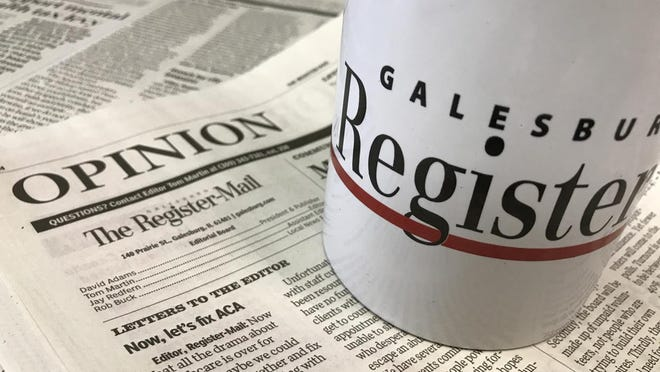 The Register-Mail opinion page