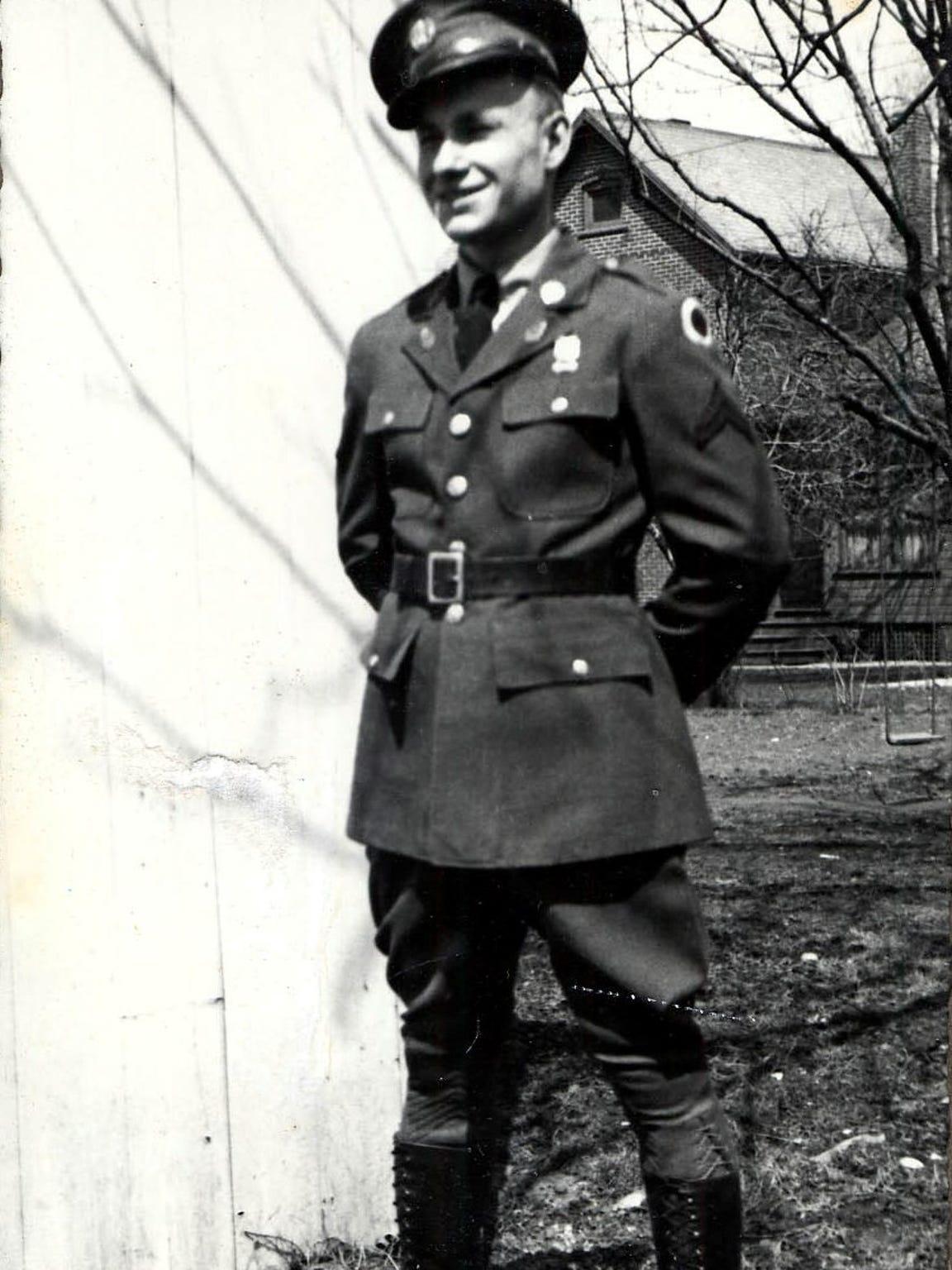 Jim McGrady, 95, served as a flight instructor during World War II.