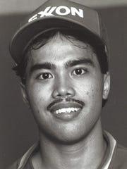 Edwin Castro Sport: Baseball Team: Exxon Tigers Photo archive date Jan. 31, 1988.