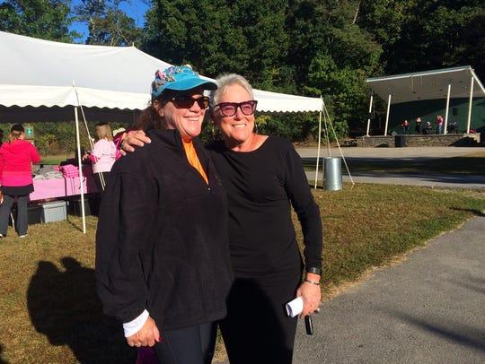 Cathy Varunok and Dana Effron share a special bond.