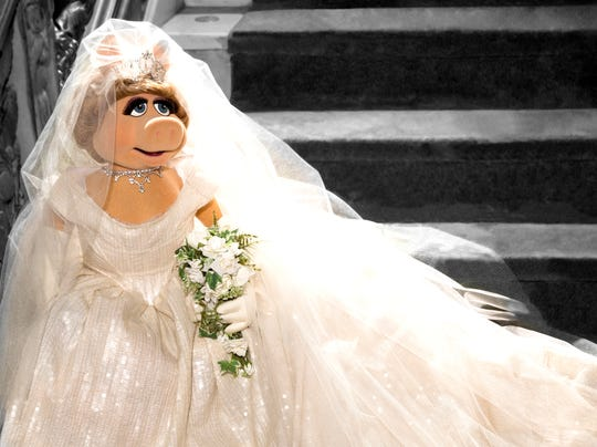 'Muppets Most Wanted' wedding  Miss Piggy