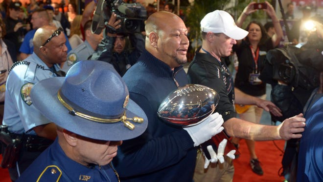 Former Ole Miss running back Deuce McAllister is excited to see the Rebels in the Sugar Bowl.