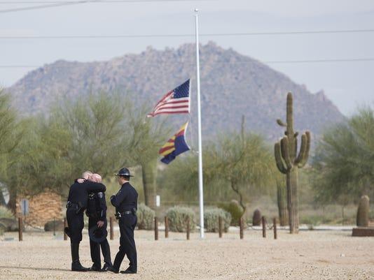 Slain Gilbert police veteran