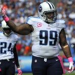Titans defensive end Jurrell Casey (99) has the team's highest average salary.