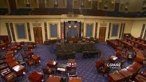 The U.S. Senate Chamber.