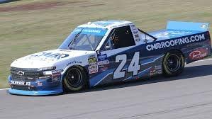 Brett Moffitt in his NASCAR Truck