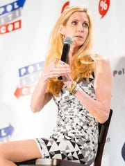 Ann Coulter speaks at Politicon 2016 at the Pasadena