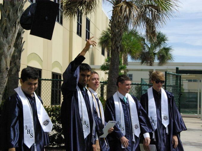 Oasis High School's oldest students celebrated their commencement with parents, loved ones, friends and fellow classmates.