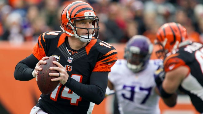 Bengals quarterback Andy Dalton helped many fantasy owners win a title in Week 16 with 366 yards passing and four TDs.