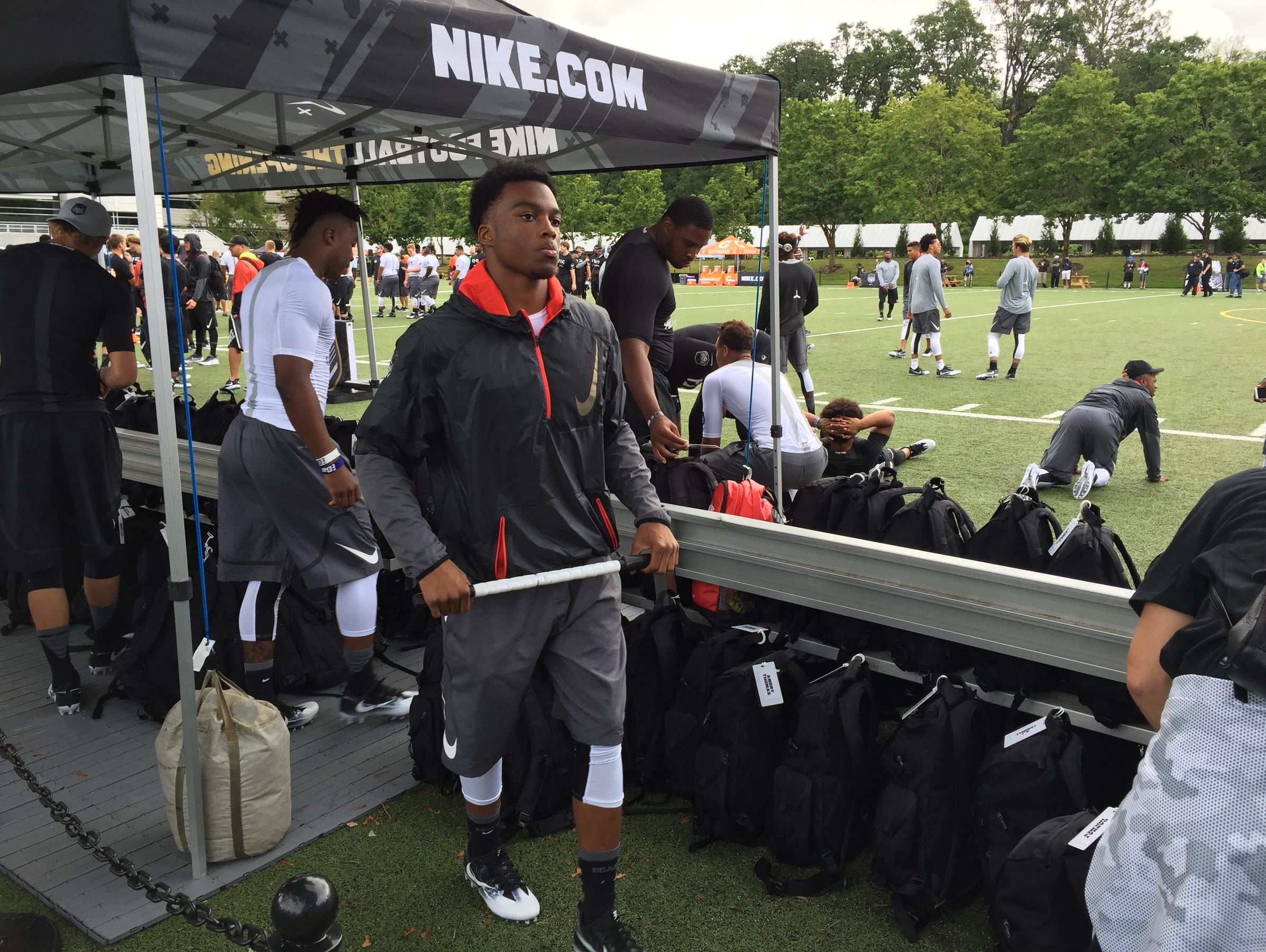 Ambry Thomas at The Opening in Oregon.