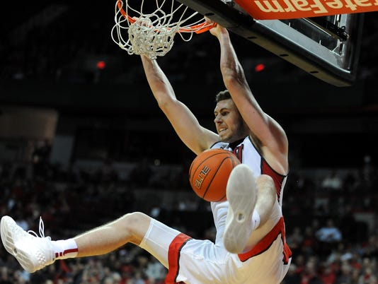 NCAA Basketball: South Dakota at UNLV