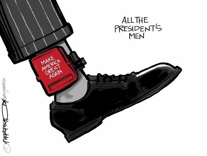 Editorial cartoon for Oct. 31, 2017.