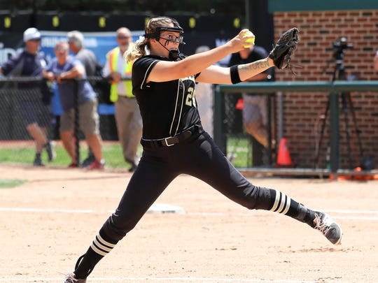 Sophomore pitcher Molly Carney is one of the big reasons