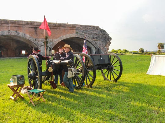 On Saturday, Gulf Islands National Seashore will present a special day exploring the lives of soldiers stationed at Fort Pickens during the Civil War.