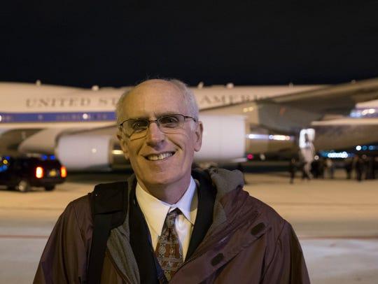 Milwaukee Journal Sentinel reporter Don Walker finishes