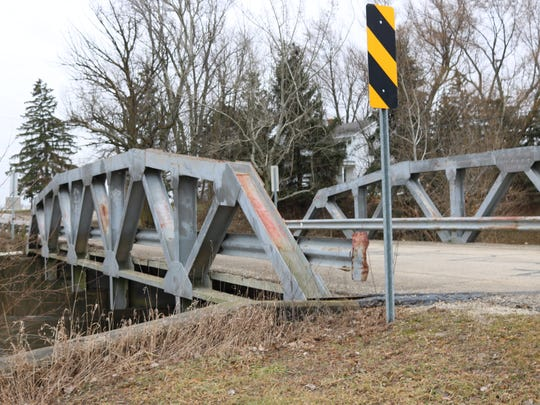 Ottawa County Engineer Ron Lajti said this bridge on Fulkert Road over Toussaint Creek, about a mile west of County Road 213, is one of the most in need of upgrades.