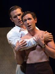 Joseph Lattanzi as Hawkins Fuller and Aaron Blake as