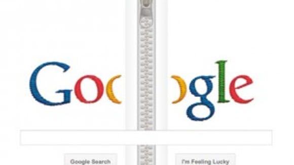 Google doodle zipper
