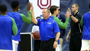 UWF men's coach Jeff Burkhamer has his team in position to secure its first winning season in five years and other goals at stake in final six games of schedule.