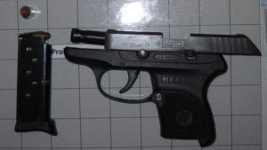 A Dutchess County woman brought this loaded handgun in her carry-on bag to a New York Stewart International Airport checkpoint on Friday.