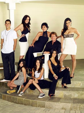 Kardashians 2013 Christmas Card.Kendall Jenner Didn T Want To Be In The Kardashians