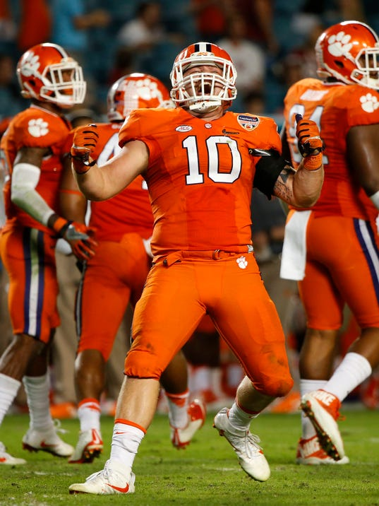 USP NCAA FOOTBALL: ORANGE BOWL-OKLAHOMA VS CLEMSON S FBC USA FL