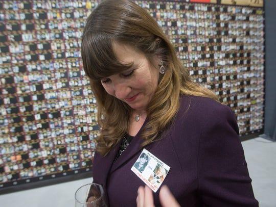 Kathy Strong, of Walnut Creek, had worn a POW/MIA bracelet