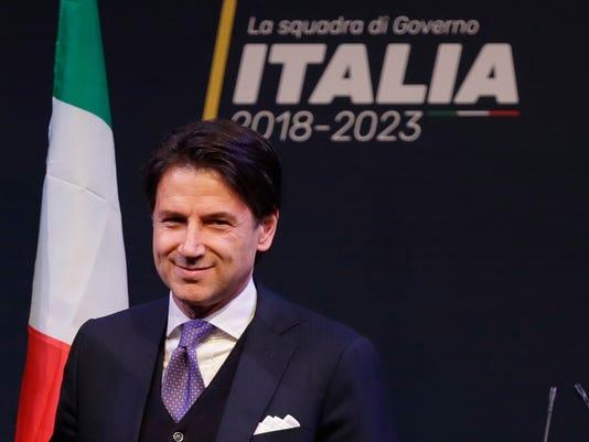 AP ITALY POLITICS I ITA