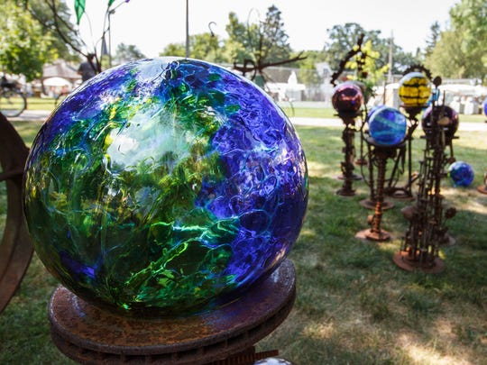 Unique, handcrafted items from around the country attract visitors to Fowler Park for the Oconomowoc Festival of the Arts. This year's festival is Aug. 18-19.