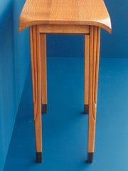 Table by wood artist Alice Porembski.
