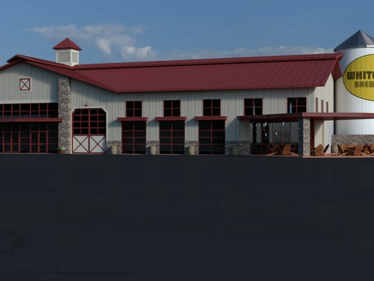 Efforts to bring microbreweries to Colerain Township began with Rusty Wayne's efforts to sell his building at 6780 Kepler Road, to a group wanting to open a microbrewery. This is an artist's rendering of what the building might look like as a microbrewery. The name on the silo is for illustration purposes only.