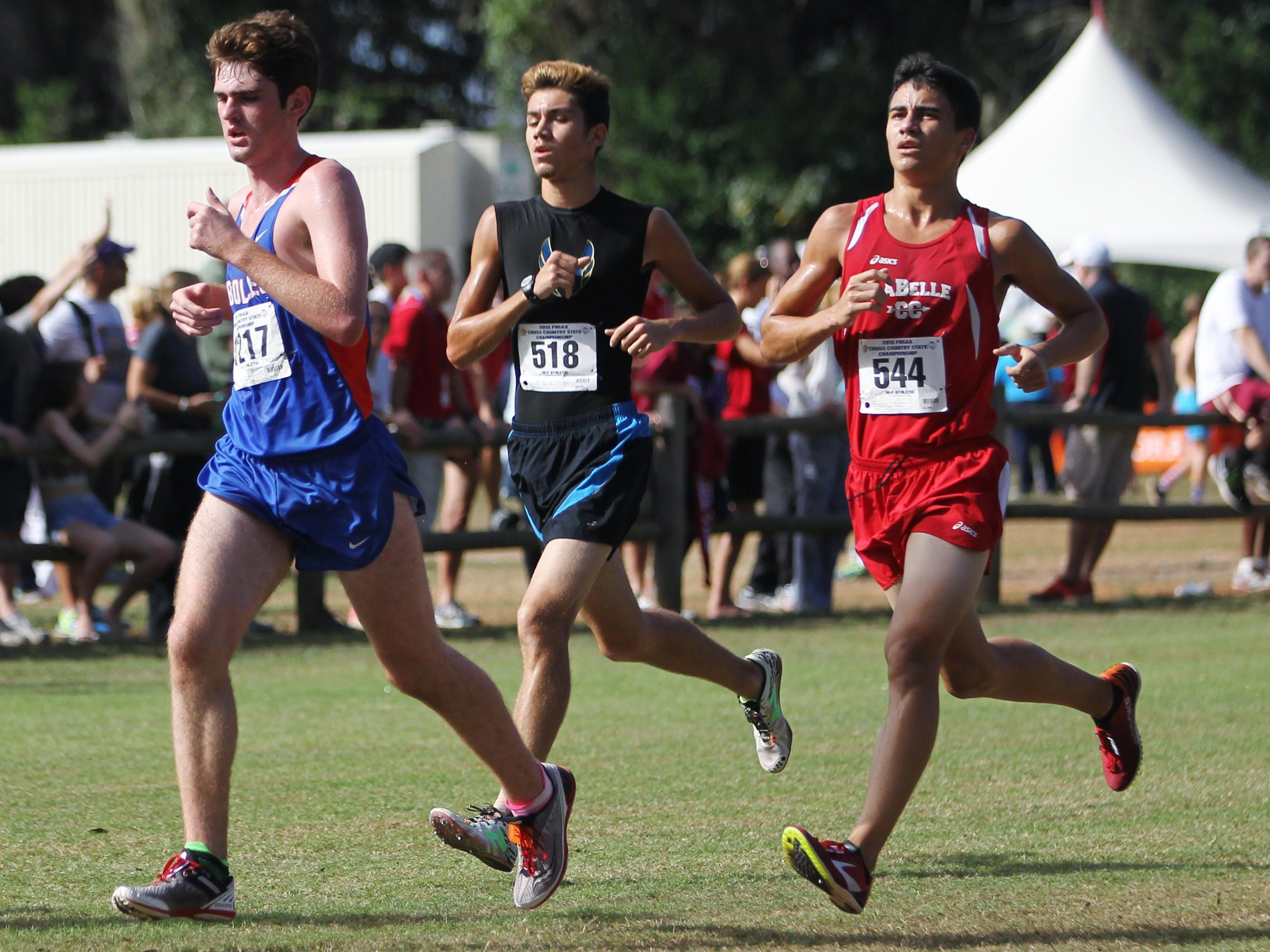 Rickards senior Solomon Stevens, along with senior Evan Garrison, became the first tandem in school history to make the FHSAA state meet.