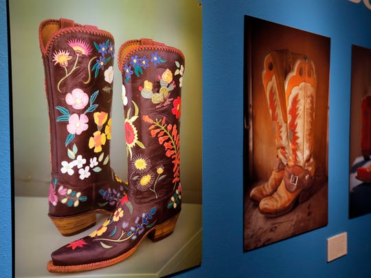 The El Paso Museum of History is featuring an exhibit of the history of cowboy boots and El Paso's boot makers.