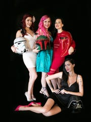 Hard Candy Showgirls takes traditional burlesque and adds a nerdy, science fiction element.