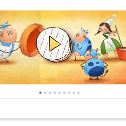 Cheese doodle! Google honors Camembert-maker Marie Harel