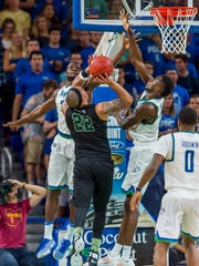 Stetson lost leading scorer Derick Newton to the NBA G League, but FGCU lost starting forwards Marc-Eddy Norelia and Demetris Morant, the ASUN Defensive Player of the Year, to graduation.