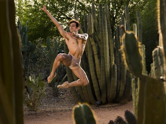 Ballet Arizona dancer Nayon Iovino was photographed