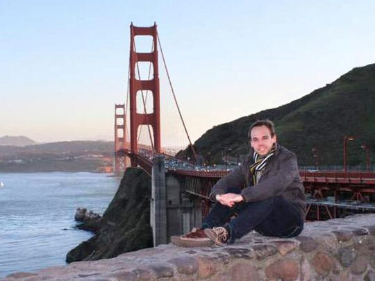 """This picture circulating on the internet and social networks allegedly shows Andreas Lubitz, posing in front of the Golden Gate Bridge in California. Lubitz, the German young co-pilot of the doomed Germanwings flight appears to have """"deliberately"""" crashed the plane into the French Alps after locking his captain out of the cockpit, but is not believed to be part of a terrorist plot, French officials said today. AFP PHOTO RESTRICTED TO EDITORIAL USE, NO MARKETING NO ADVERTISING CAMPAIGN - DISTRIBUTED AS A SERVICE TO CLIENTS-/AFP/Getty Images"""