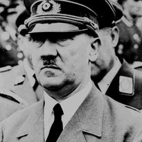Adolf Hitler, fuhrer of Germany, is seen in this Aug. 5,1941 file photo.