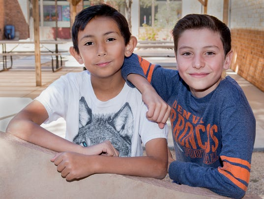 Fifth-grader who saved friend's life photo