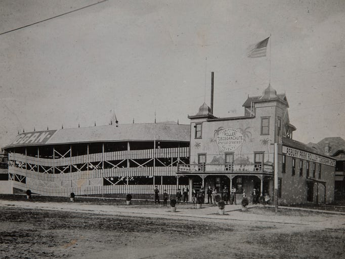 1886 Former steeplechase in Asbury Park