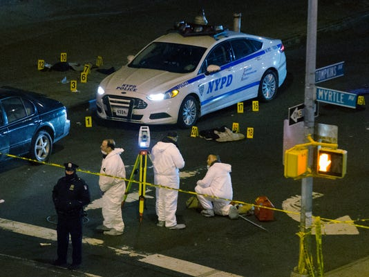 NYPD Officers Shot (2)