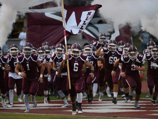 The Wayne Hills football team takes aim at a second-straight