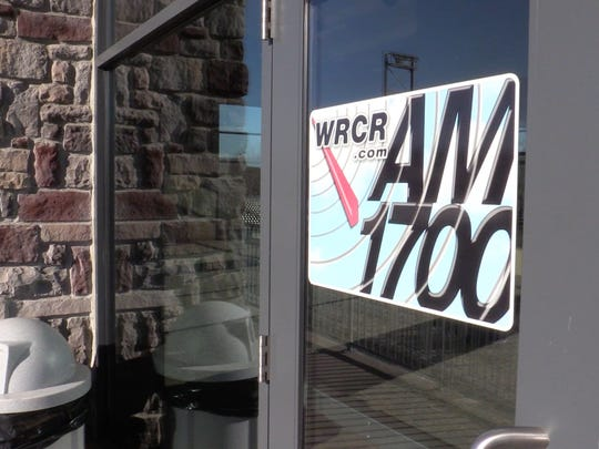 The entrance to WRCR 1700 am radio at Palisades Credit Union Park in Pomona, Nov. 18, 2016.  The studio has since moved to Garnerville.