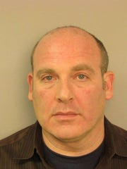 Brad Schmitt's mugshot after his 2010 arrest for DUI